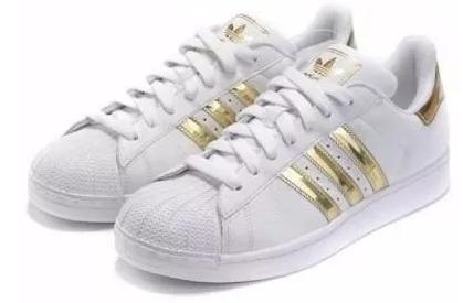 Adidas Superstar dourado