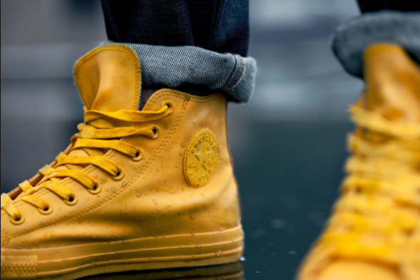 chuck taylor rubber yellow