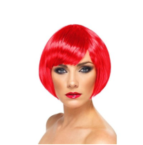 peruca vermelha