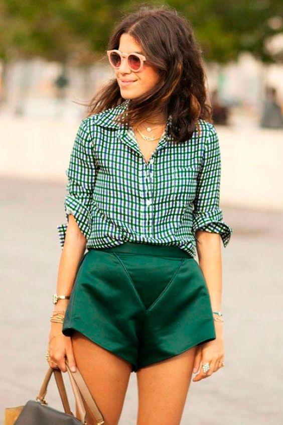 camisa-xadrez-verde